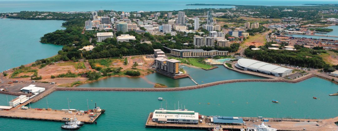 Darwin Harbour Zen Quarter location