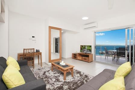 Room Type: Two bedroom Apartment Darwin Lounge View