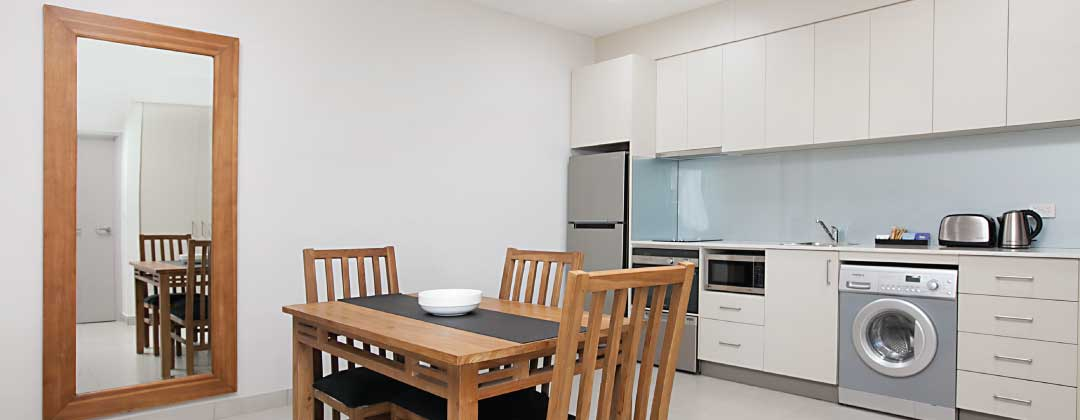 Darwin Serviced Apartments with full sized kitchens