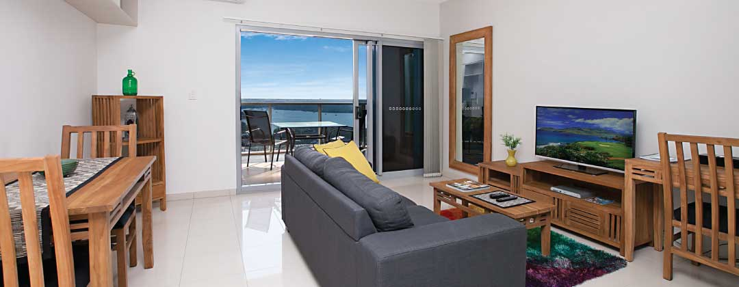 Darwin Executive apartment living area