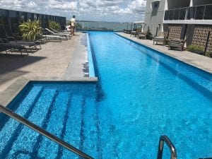 Large hotel pool Darwin good for doing laps